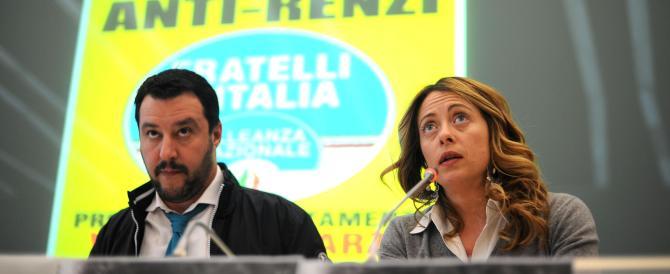 Meloni: «In piazza a Venezia con chi non vuole morire renziano»