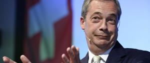 Farage: le leggi antirazziste discriminano il popolo inglese