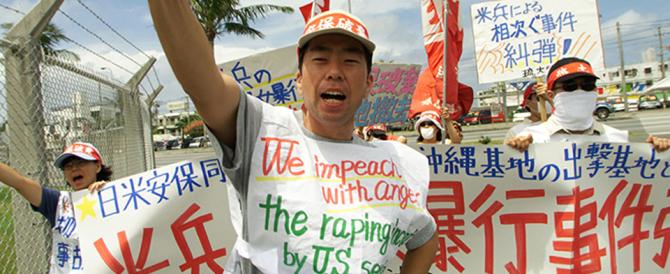 Okinawa: i residenti e il governatore Onaga contro la nuova base Usa