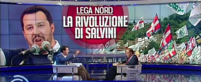 Duello Salvini-Lupi a Porta a porta. Carfagna: «Divisi perdiamo»