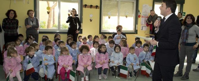 Istruzione, Renzi rinvia la riforma. E le scuole continuano a crollare