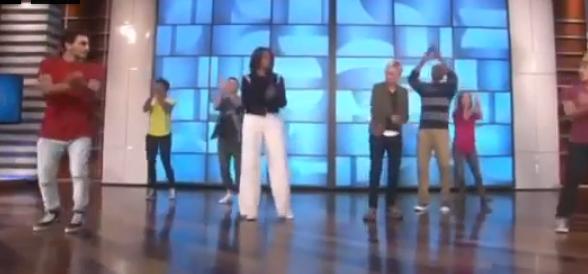 Michelle Obama balla il funky in tv contro l'obesità (video)