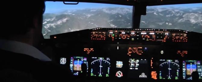 L'impatto dell'aereo sulle Alpi rivissuto con il simulatore (Video)