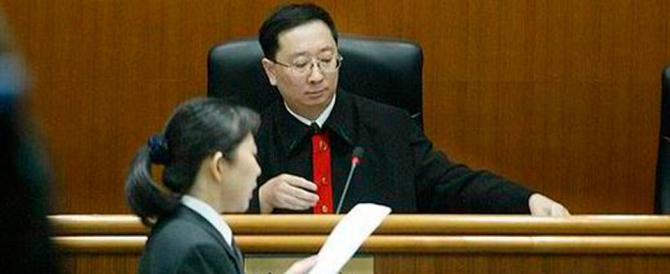 """Cina, la """"macchina"""" delle condanne: un milione nel 2014, quasi il 100%"""