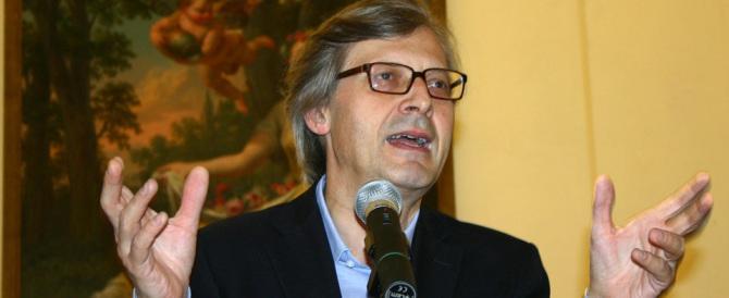 Sicilia, Musumeci chiama Sgarbi: «Sei un genio, aiutami a vincere»