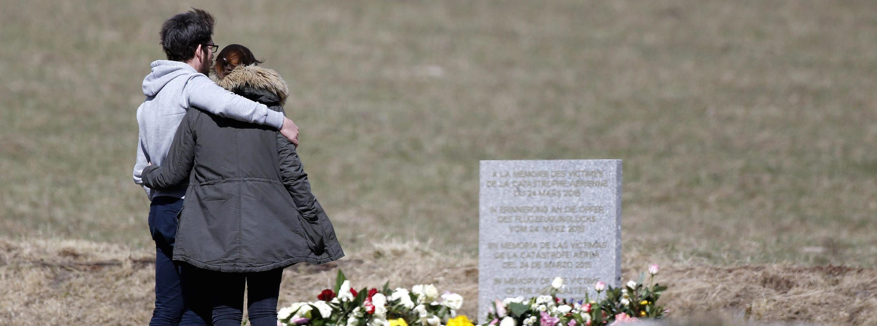 I parenti delle vittime della tragedia della Germanwings