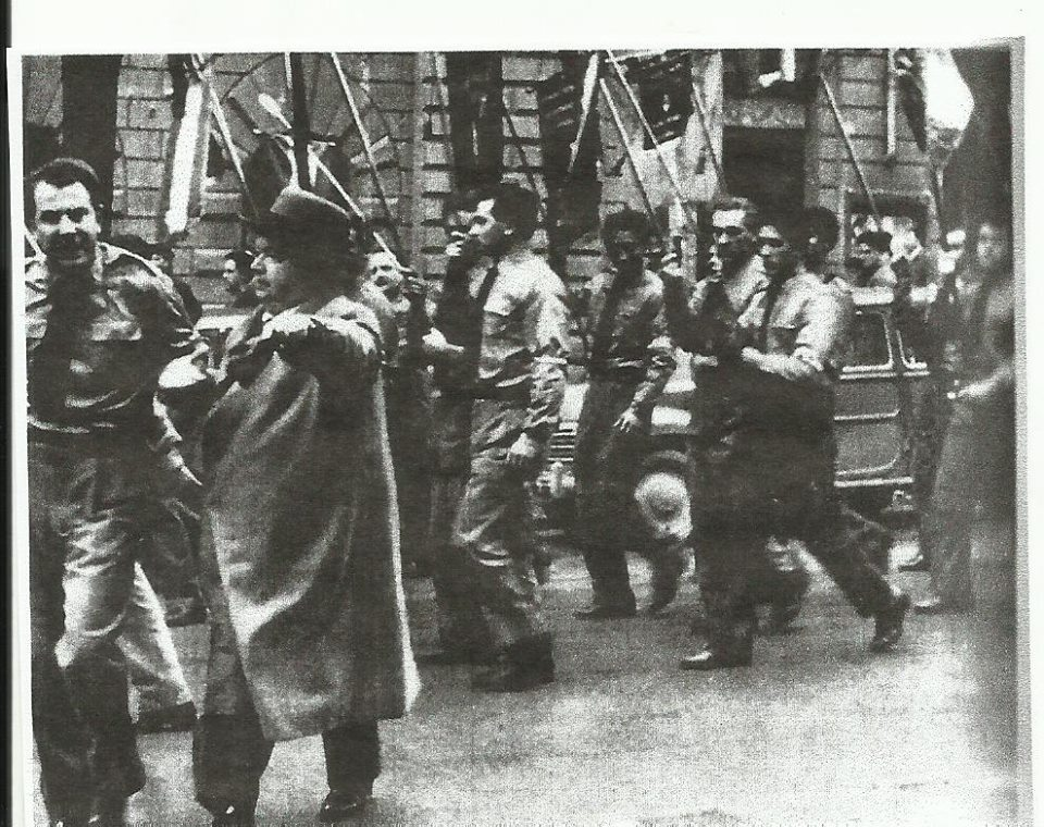 Una manifestazxione dei Volontari Nazionali