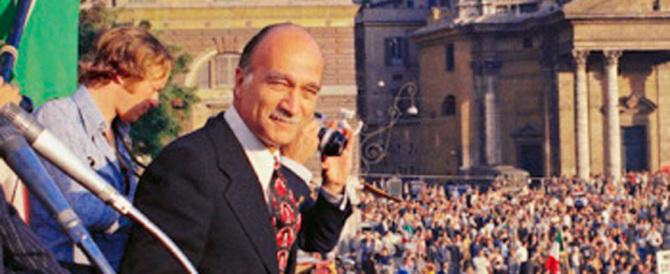 Malgieri: che nostalgia per la piazza del Popolo di Giorgio Almirante…