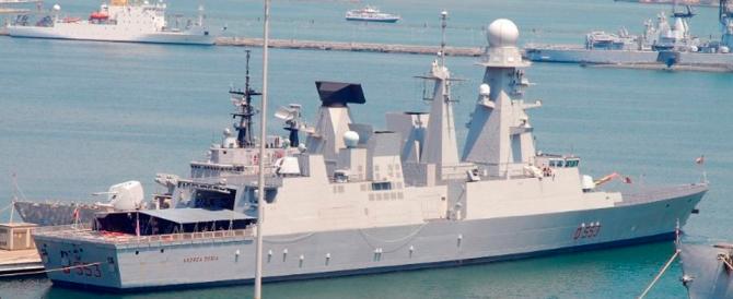 """Marina militare: l'Andrea Doria torna a Taranto dopo """"l'operazione pirati"""""""