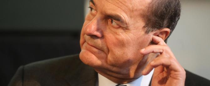 Bersani: se non sono d'accordo con Renzi mi cacciano? Questa è casa mia