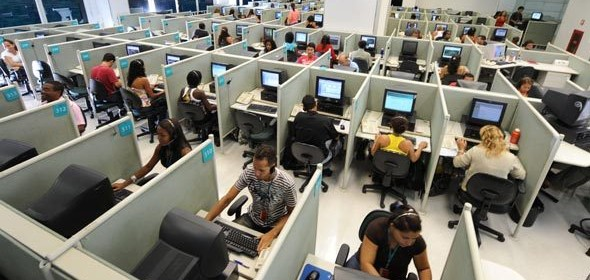 telecom call center