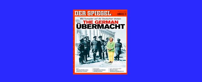 "Copertina choc dello ""Spiegel"": la Merkel tra i nazisti"