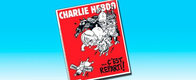 """Charlie Hebdo"" si adegua: basta islam e attacco al Front National"