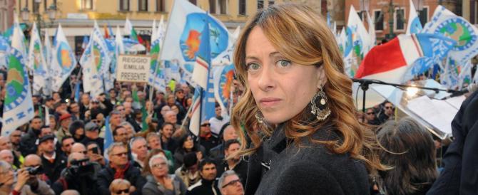 Meloni: «Bertolaso sarà un grande sindaco, io farò la capolista di FdI»