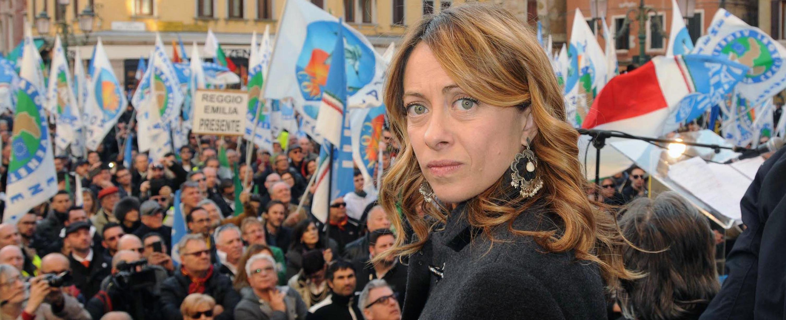Giorgia Meloni a Venezia