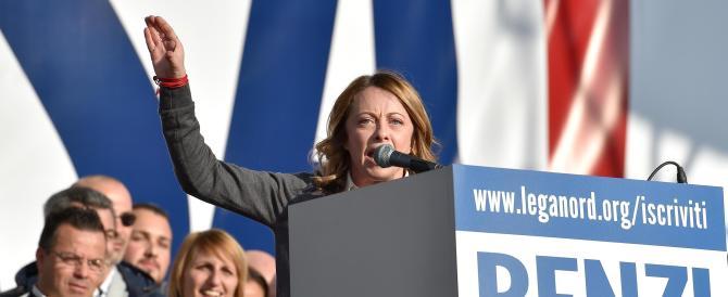 Meloni: un grande successo della Le Pen, è lei il nostro modello per abbattere Renzi