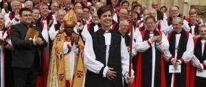 Gran Bretagna, dopo i vescovi donna arrivano i vescovi sposati tra loro