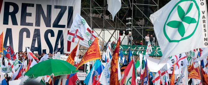 Salvini: «Niente rancori. Tosi si goda i complimenti di Alfano, è affar suo»