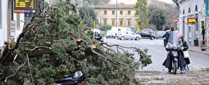 Maltempo: morti e feriti nell'Italia sferzata dal vento. Ecco le regioni più colpite