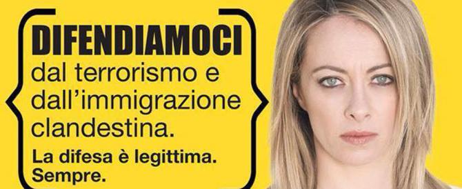 "Meloni: a Venezia per ""legittima difesa"" e mandare a casa Renzi"
