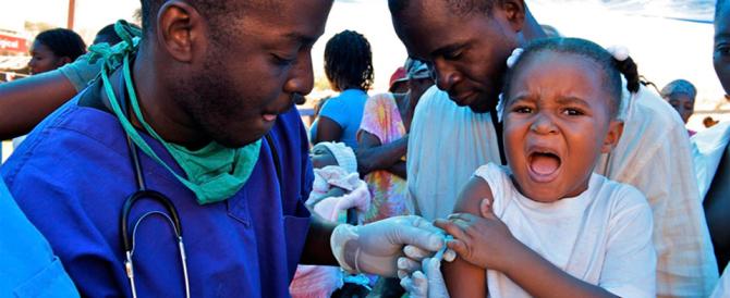 L'Ebola ha causato la diffusione del morbillo killer. È di nuovo alta tensione