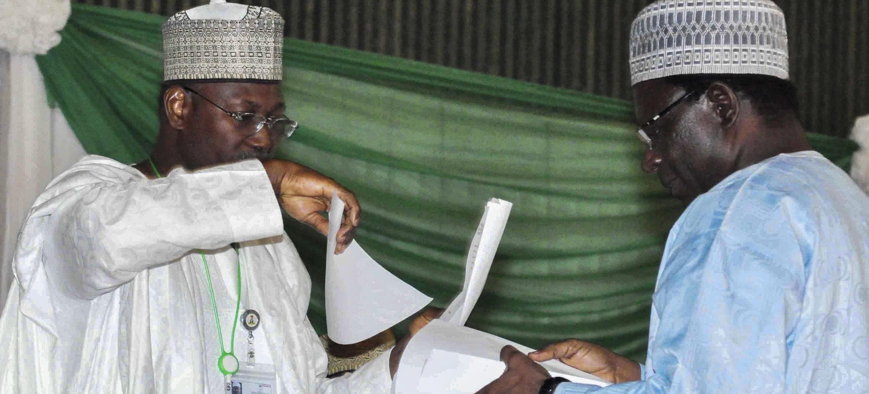 Operazioni di voto in Nigeria
