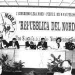 Com'erano: il primo congresso della Lega Nord (fonte Facebook)