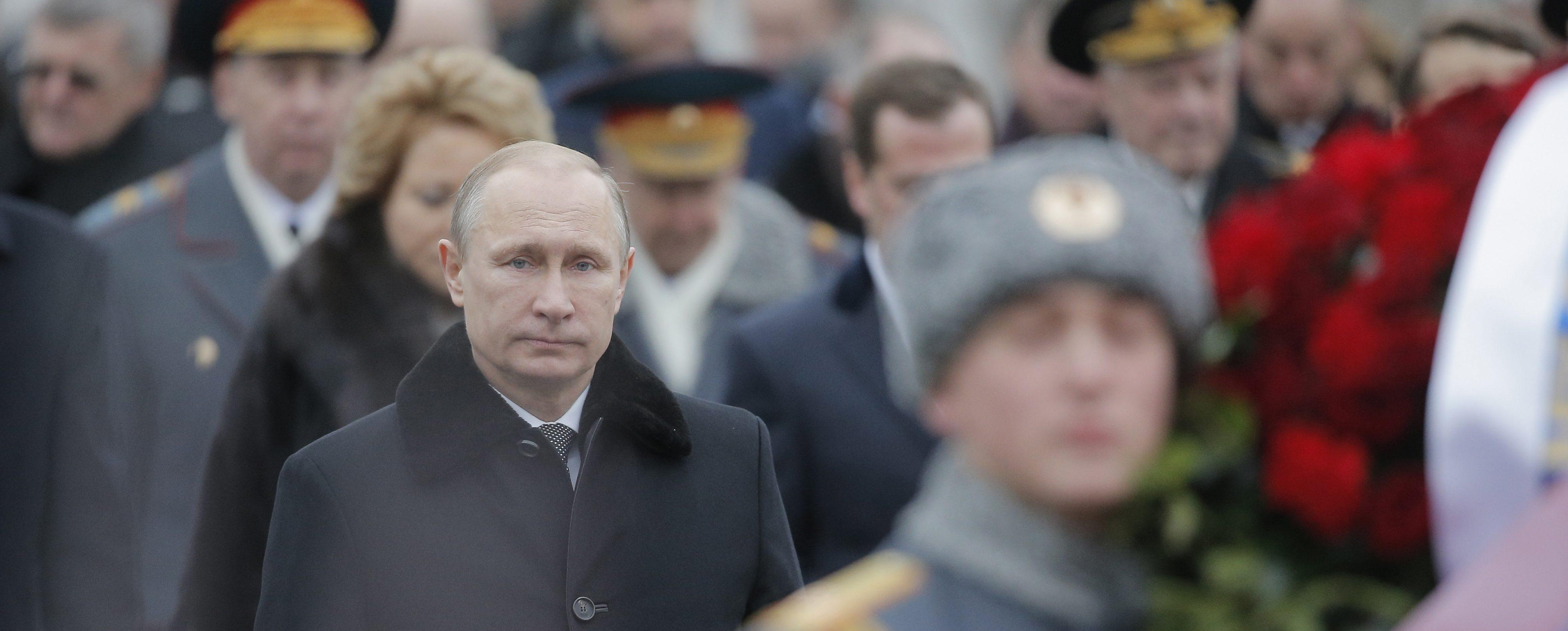 Vladimir Putin a Mosca