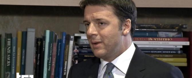 Renzi spunta al Tg1 pure il sabato sera per promettere posti di lavoro