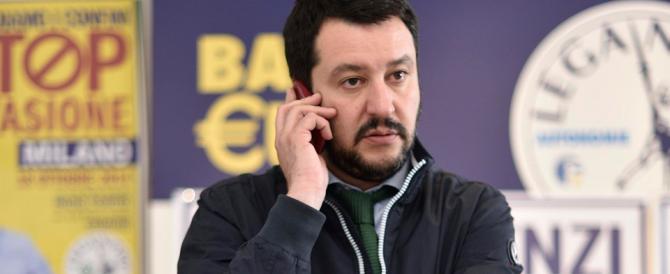 """Salvini: """"Non temo i sondaggi su Tosi, in Veneto vinceremo noi"""""""