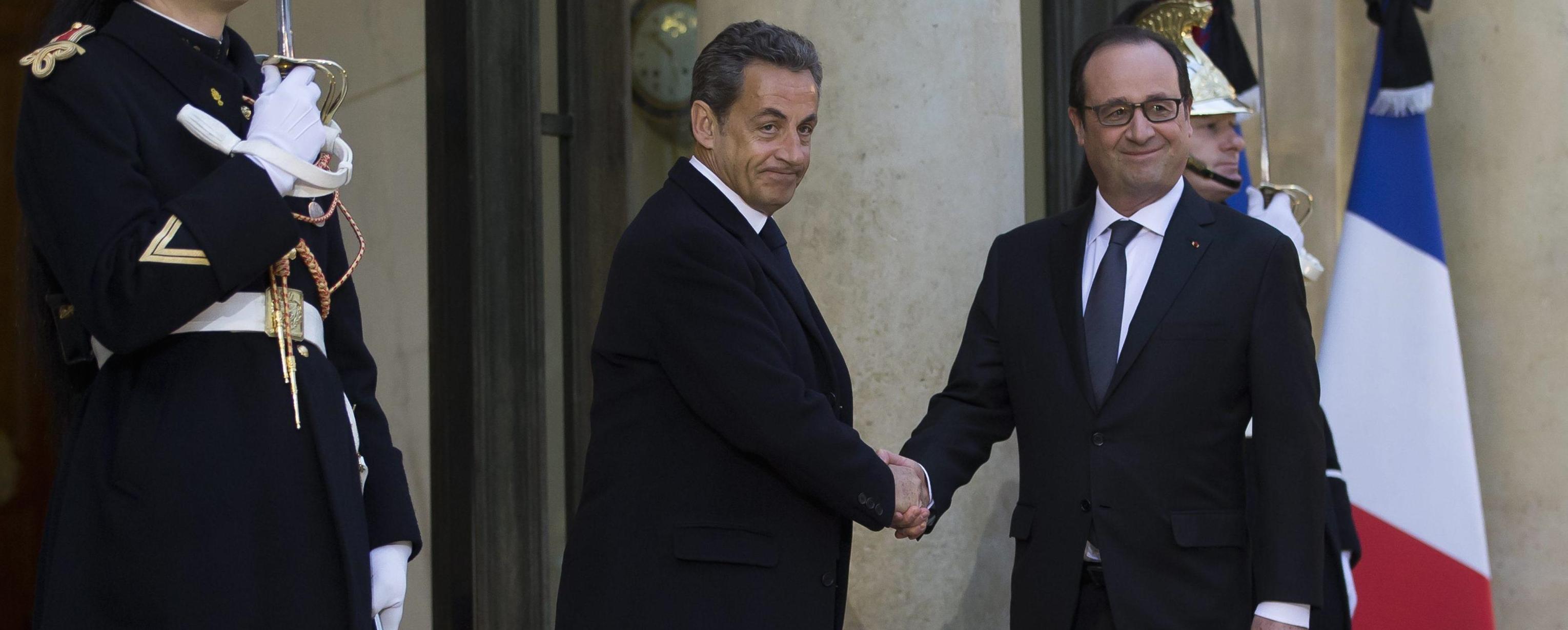 Sarkozy e Hollande