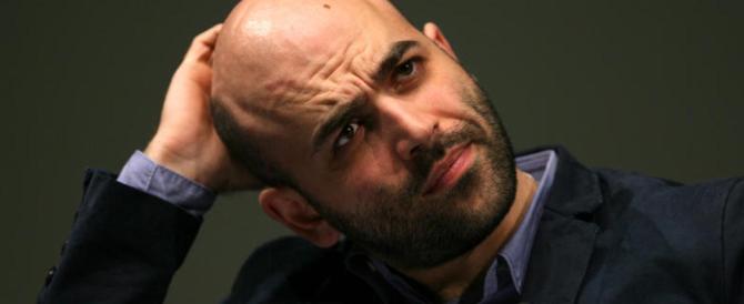 Saviano rinnega i suoi ex fans: «Un disastro il Pd, i grillini e De Magistris…»
