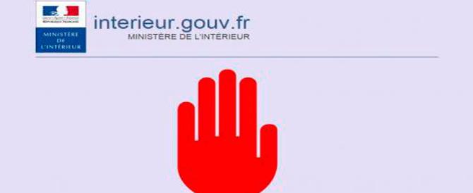 La Francia blocca il primo sito web per apologia di terrorismo
