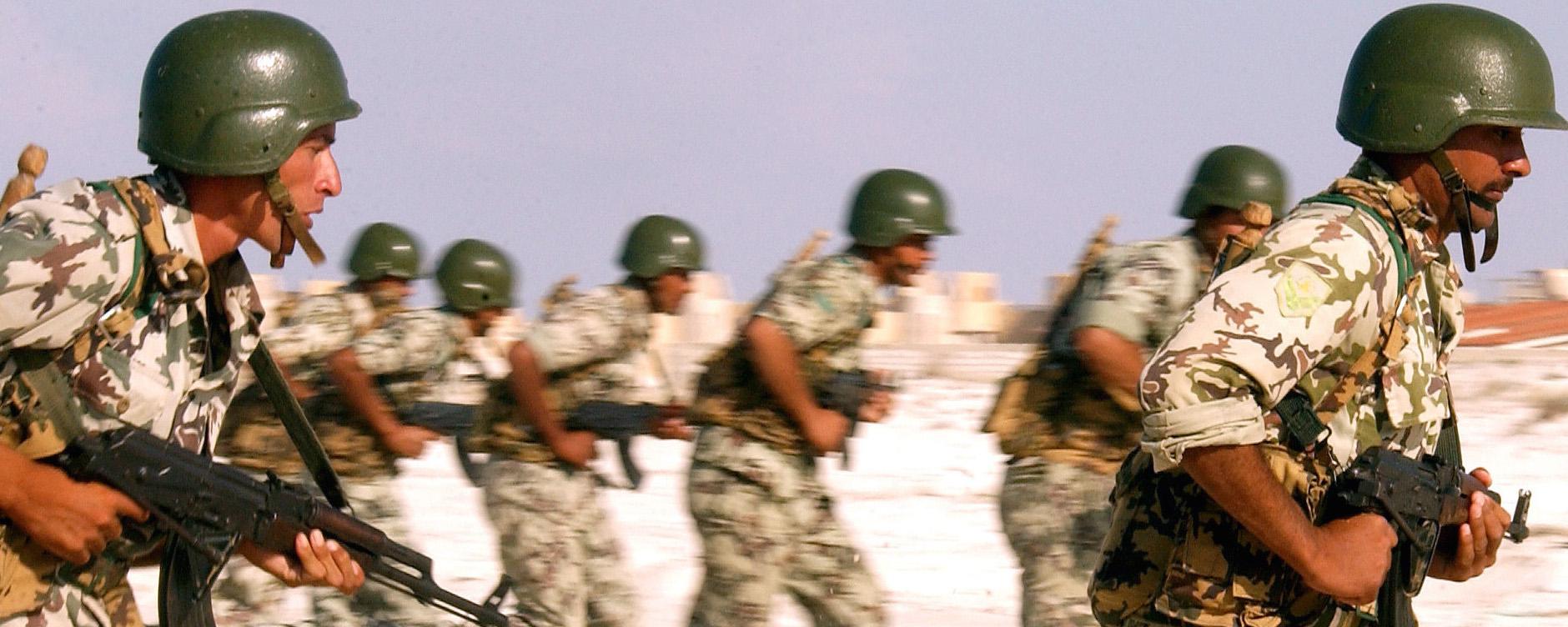 Soldati egiziani
