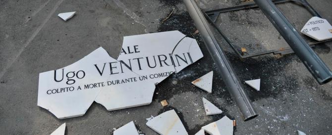 Torna la targa per Ugo Venturini, il militante missino ucciso a Genova