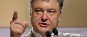 Choc Ucraina, Proshenko: accordi per armi letali con 11 Paesi. E l'Europa?