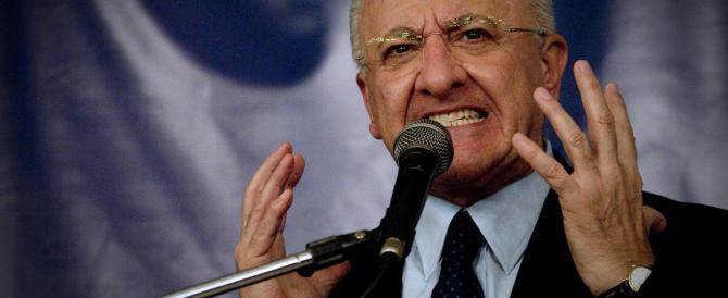 Campania, De Luca vince le primarie del centrosinistra. E smentisce Saviano