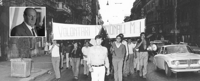 """""""Ciao, grande combattente"""": così Gramazio ricorda Alberto Rossi"""