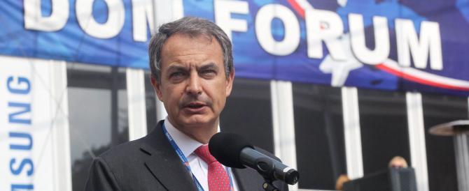 Zapatero: la congiura internazionale del 2011 contro Berlusconi ci fu