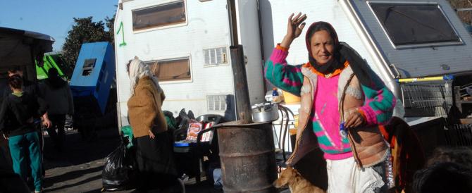Con la Raggi è boom di campi rom: a Roma 300 insediamenti abusivi