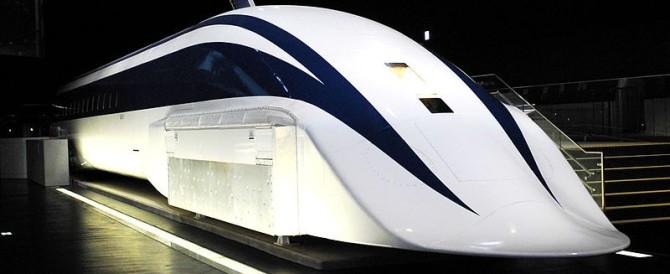 """Ora """"vola"""" a 603 km: il super treno giapponese batte un altro record"""