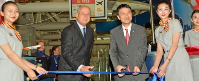 La Cina è più vicina: inaugurato un nuovo volo diretto da Fiumicino