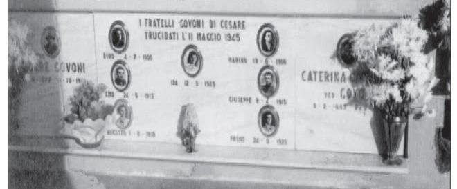 25 aprile, Foti: «Renzi vada anche sulla tomba dei fratelli Govoni»