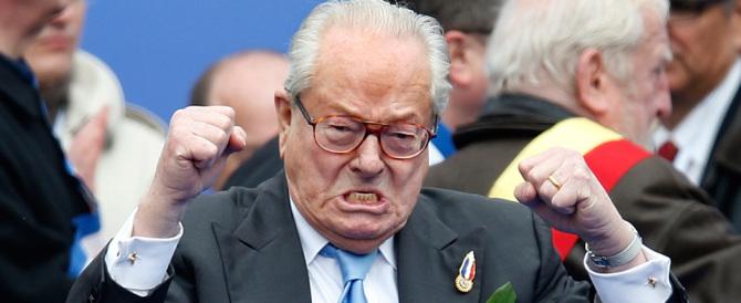 """Il Front National lo espelle ma Jean-Marie non si arrende: """"Una buffonata"""""""