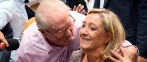 Marine Le Pen alla rottura definitiva con Jean-Marie: «Vuole nuocermi»