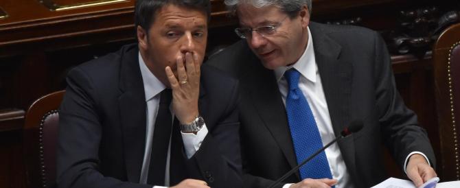 Renzi: l'Europa non si giri dall'altra parte. E alla Lega: stop sciacallaggio