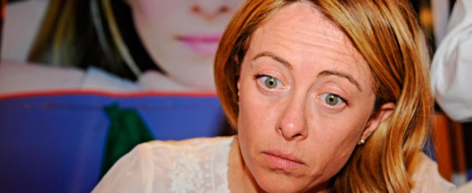 Giorgia Meloni in Toscana: tutto il centrodestra appoggi Donzelli