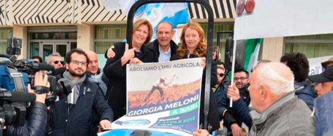 Puglia, la Meloni mette i paletti: «Poli Bortone solo se tutta FI la sostiene»