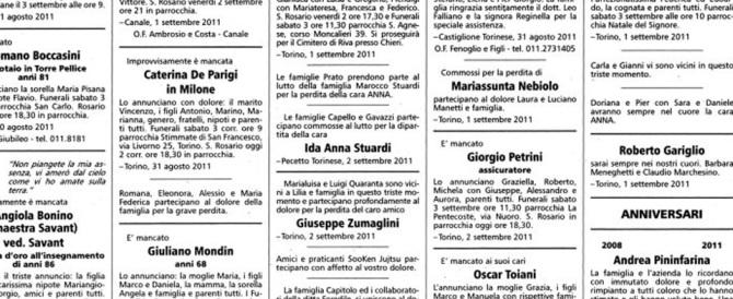 Bologna, ex marito a giudizio: diffamò l'ex suocero con un necrologio