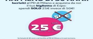 All'Expo con la tessera del Pd: la Regione Lombardia chiede spiegazioni